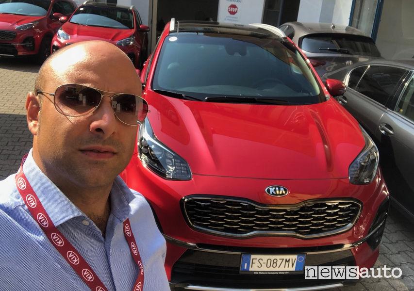 Kia Sportage 2019 GT Line, primo contatto con Marco Savo