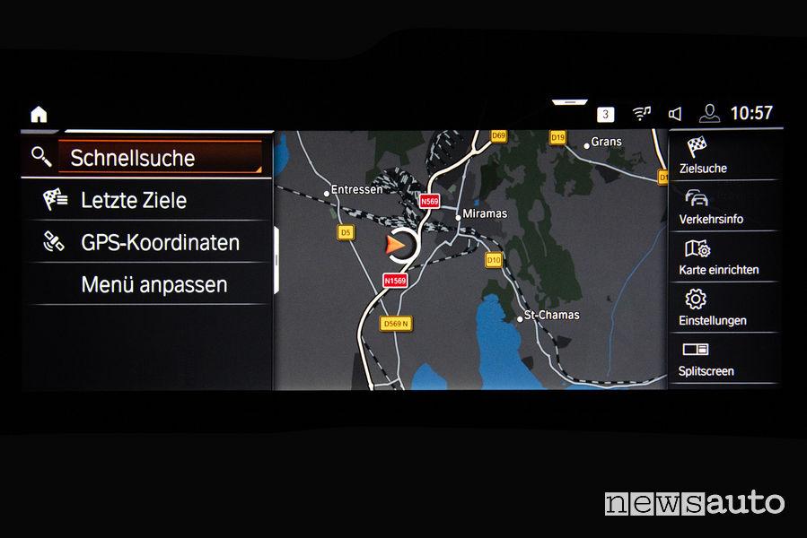 Nuova BMW_Z4 2019, navigatore