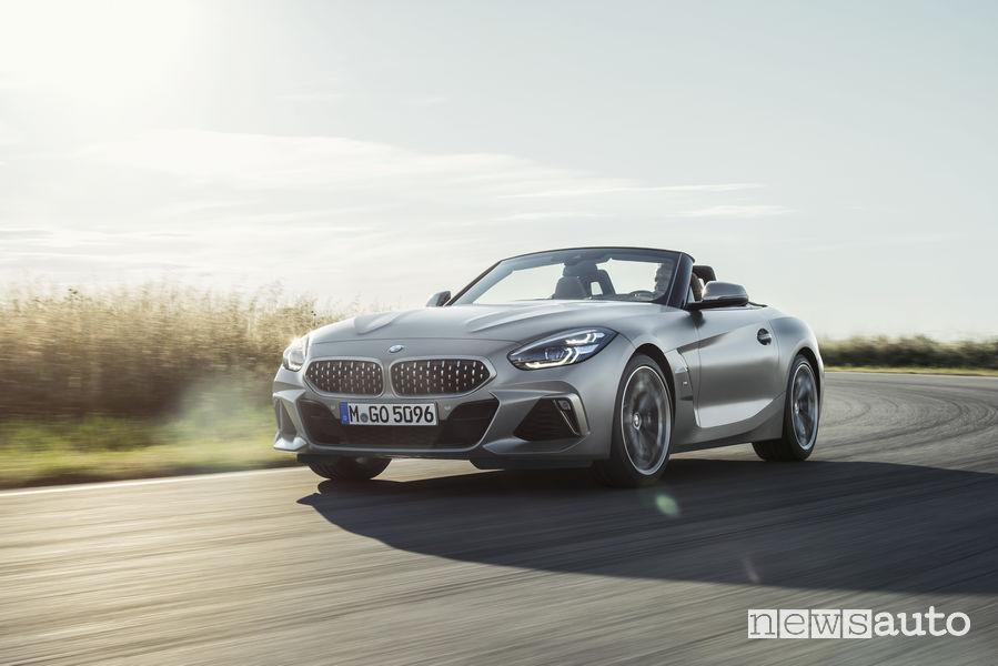 Nuova BMW_Z4 2019, vista frontale