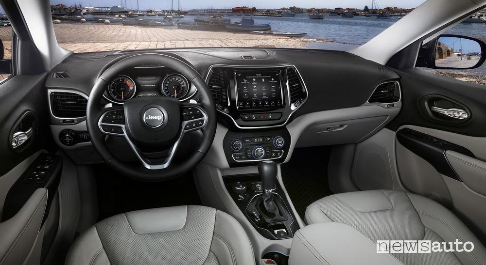 Nuova_Jeep Cherokee_2019, plancia strumenti