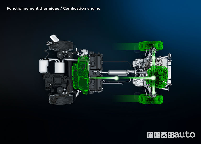 Infografica Peugeot 3008 Plug-in Hybrid4