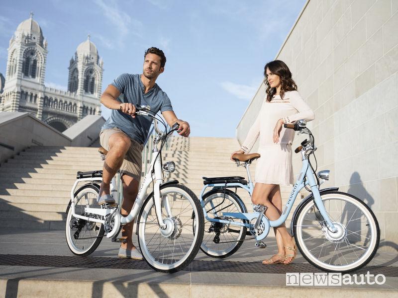 Biciclette elettriche Peugeot bike eLC01