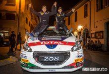 Rally_Adriatico 2018, Peugeot De Tommaso Campione Italiano junior