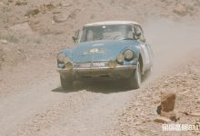 DS21 al Rally del Marocco 1969