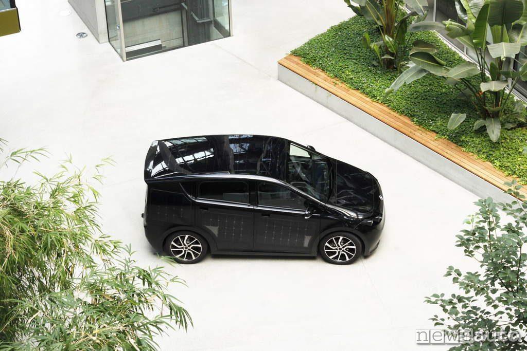 Sono Motors Sion 2019 vista dall'alto