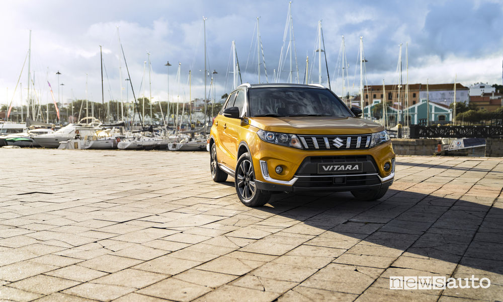 Nuova Suzuki Vitara 2019, vista frontale
