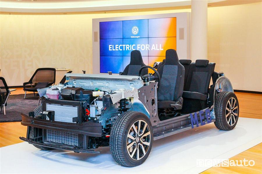Alleanza Volkswagen Ford per lo sviluppo di auto elettriche piattaforma modulare MEB