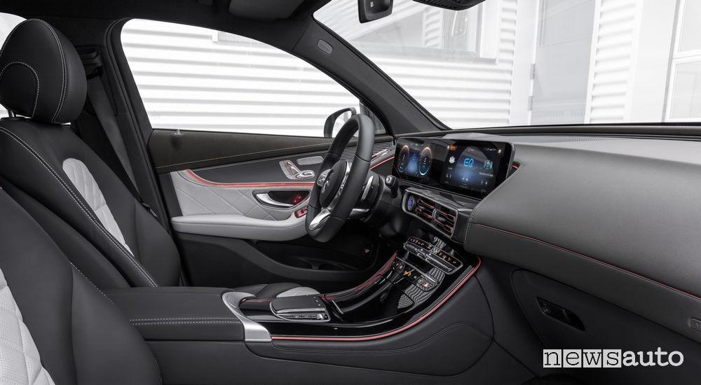 Mercedes-Benz EQC AMG Line, abitacolo