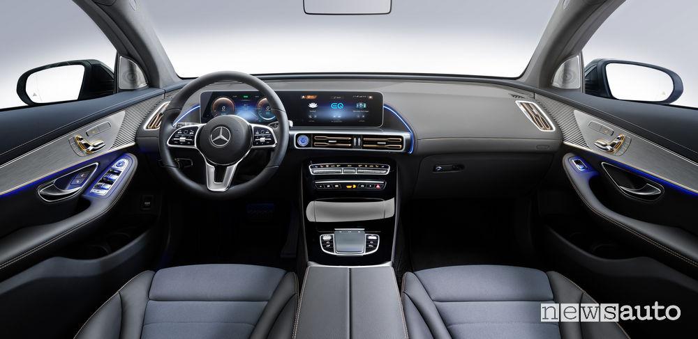 Mercedes-Benz EQC 400 4MATIC, plancia strumenti