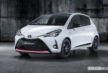 Toyota Yaris GR Sport, vista di profilo