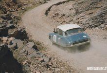 Auto storica da rally DS 21 al Rally del Marocco