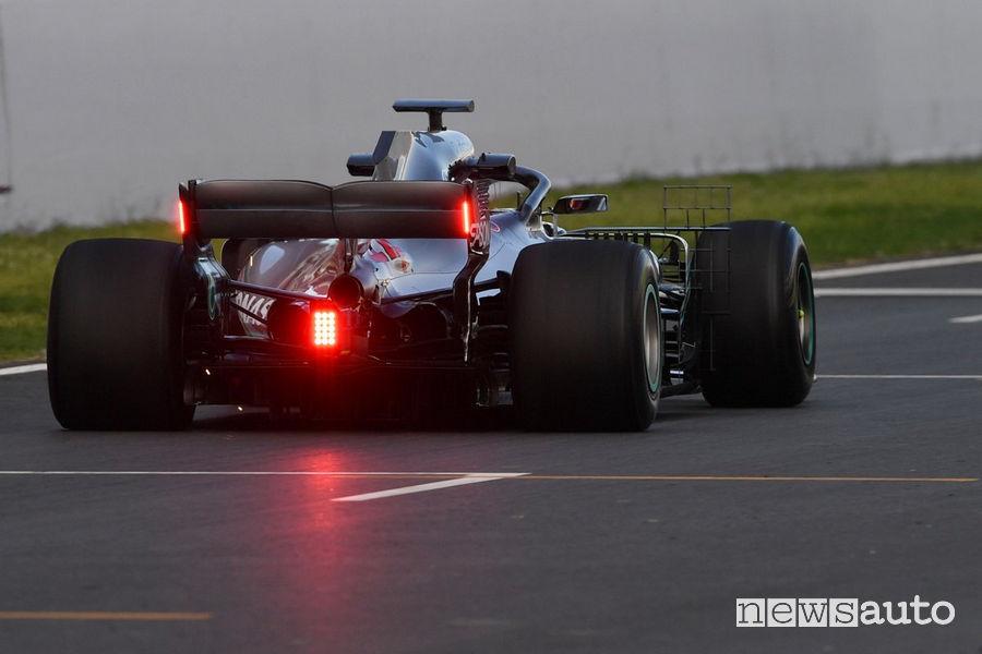 F1 2019 luci a Led ala posteriore