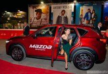Eva De Dominici scende dalla Mazda alla Festa del Cinema di Roma 201