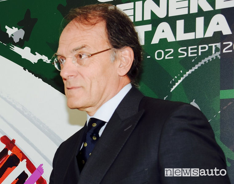 Giuseppe Redaelli, il Presidente dell'Autodromo di Monza