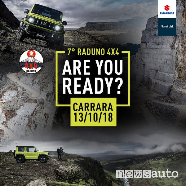 Raduno 4x4 Suzuki Carrara