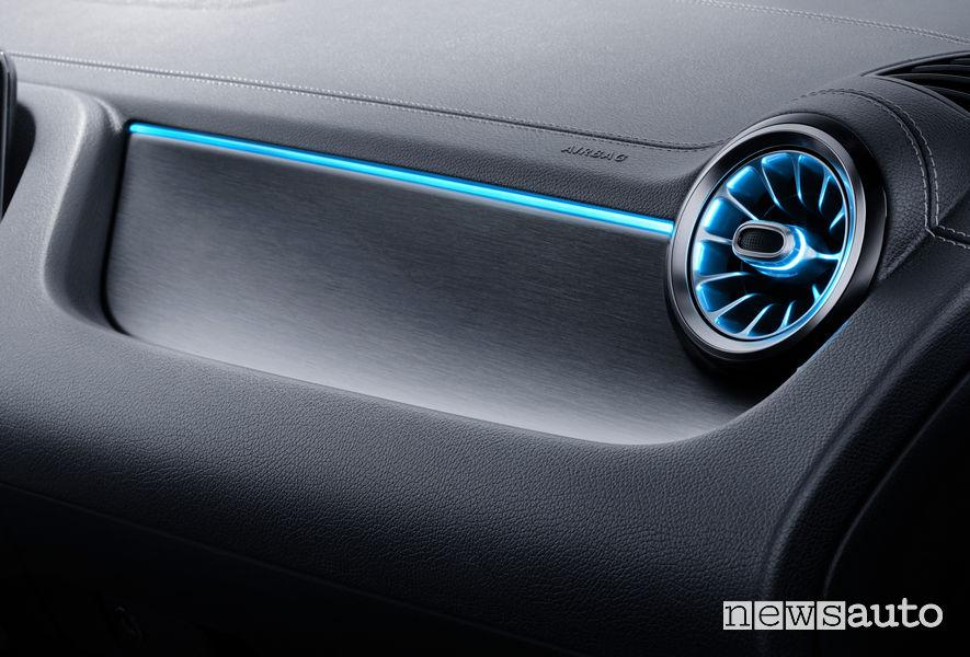 Mercedes-Benz Classe B 2019 AMG Line, bocchette di ventilazione