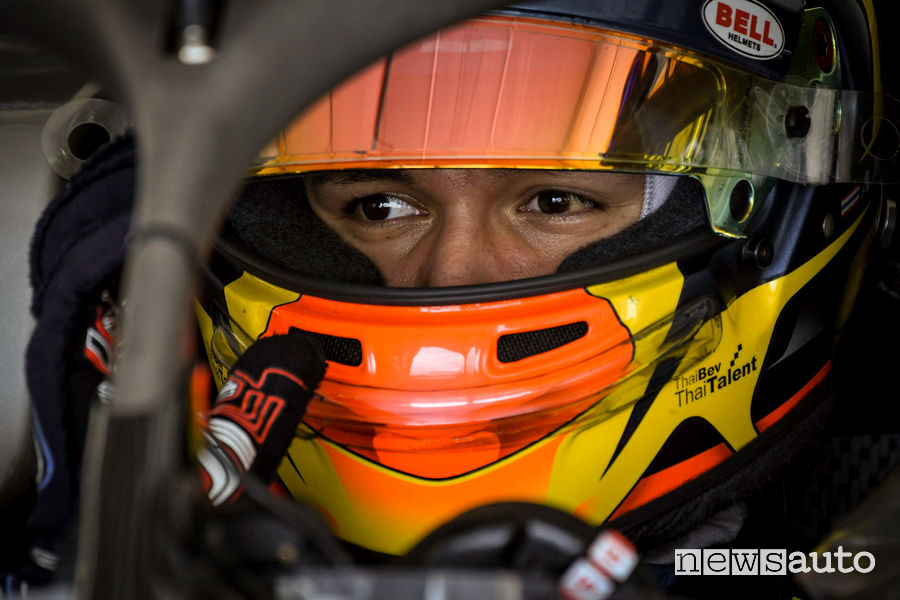 Nissan e.dams Formula E Alex Albon