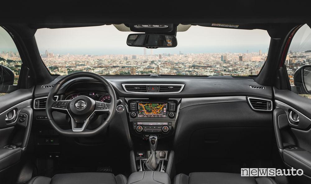 Auto diesel più vendute in italia Nissan_Qashqai 2019, plancia strumenti