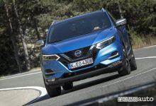 Nissan Qashqai 2019 blue, vista frontale