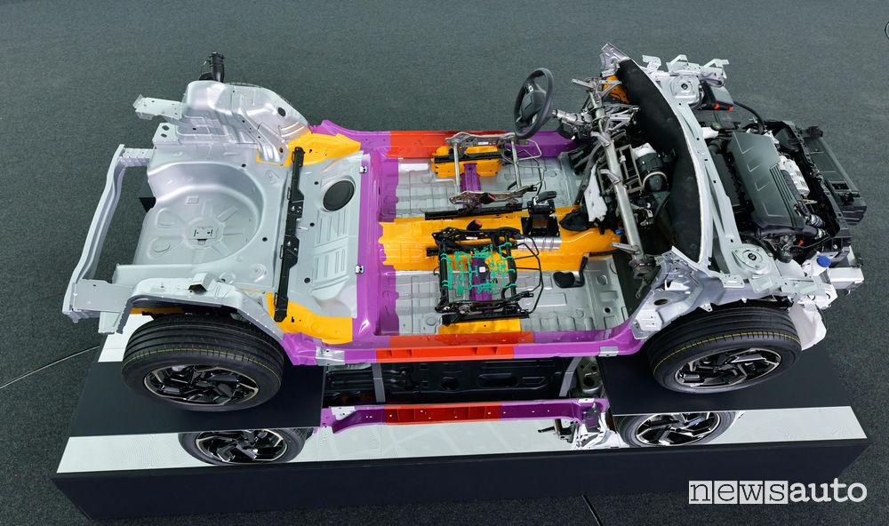PSA piattaforma modulare CMP auto a motore termico