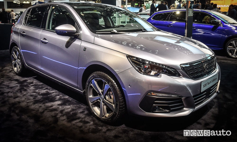 Peugeot 308 2019, serie speciale Tech Edition
