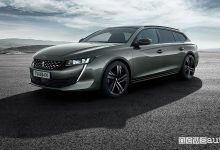 Peugeot 508 SW 2019 First Edition, vista di profilo
