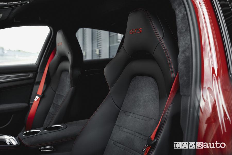 Porsche_Panamera GTS Sport Turismo, abitacolo