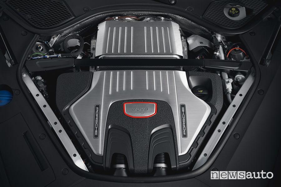 Porsche_Panamera GTS Sport Turismo, motore V8 biturbo 4.0l 460 CV