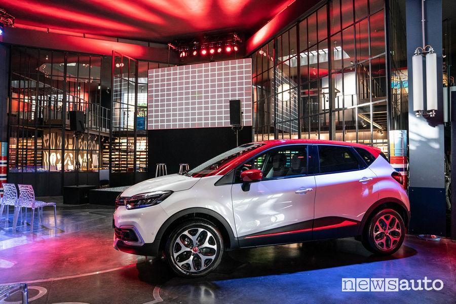 Renault_Captur Tokyo Editon nella sede di Garage Italia a Milano