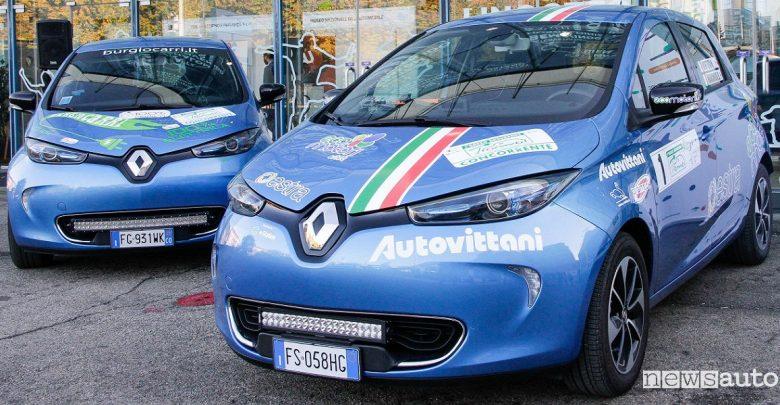 Gara per auto elettriche Renault Zoe