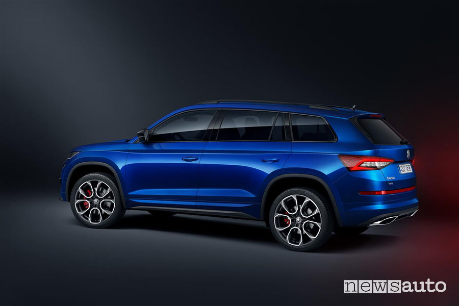 Skoda_Kodiaq RS 2019, vista laterale