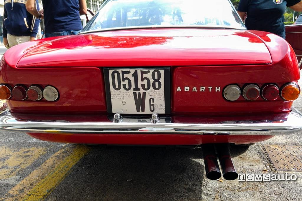 Targa auto storica
