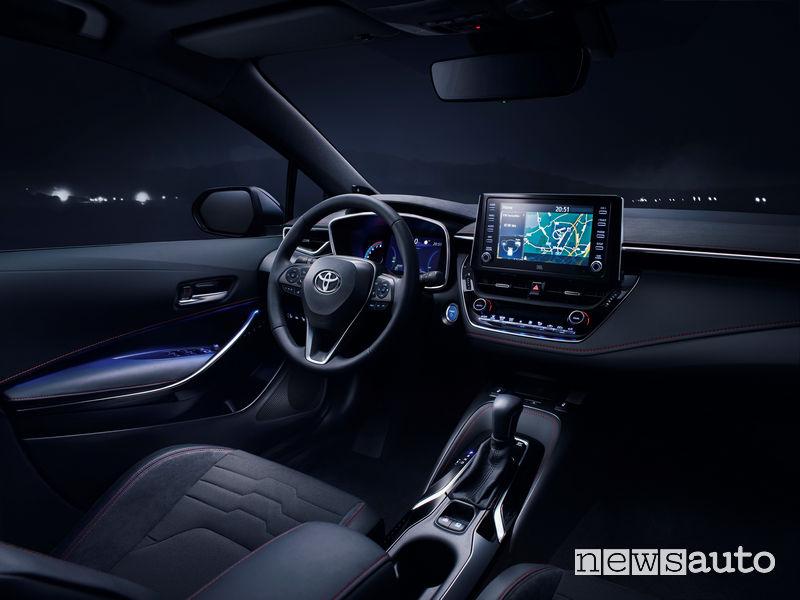 Toyota_Corolla 2019, plancia strumenti