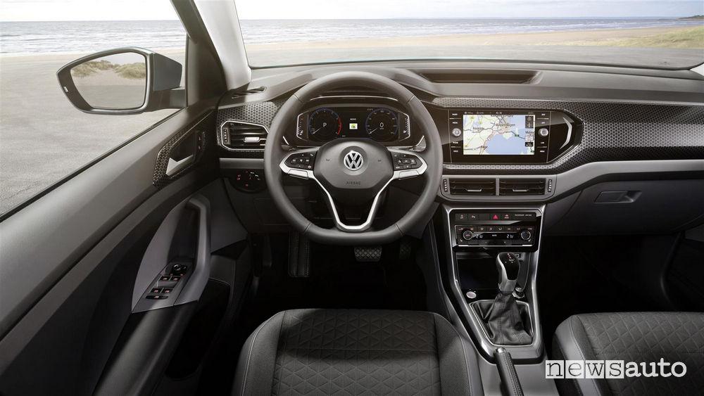Volkswagen_T_Cross 2019, plancia strumenti