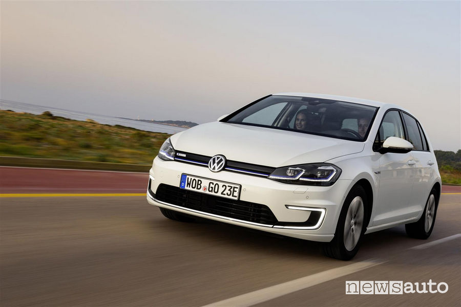 Volkswagen_e-Golf, vista frontale