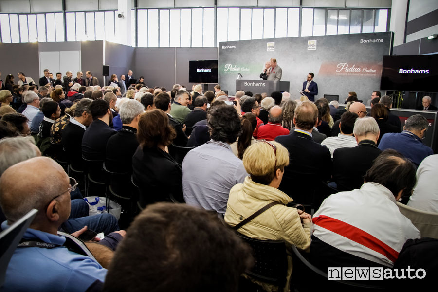 Edizione 2018 Salone Auto e Moto d'Epoca di Padova