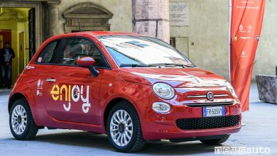 Fiat 500 Enjoy come funziona