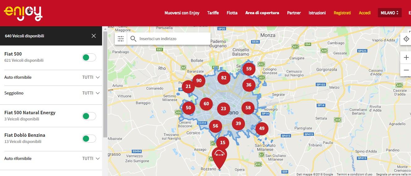 Enjoy Come Funziona Guida Al Car Sharing Di Eni Newsauto It