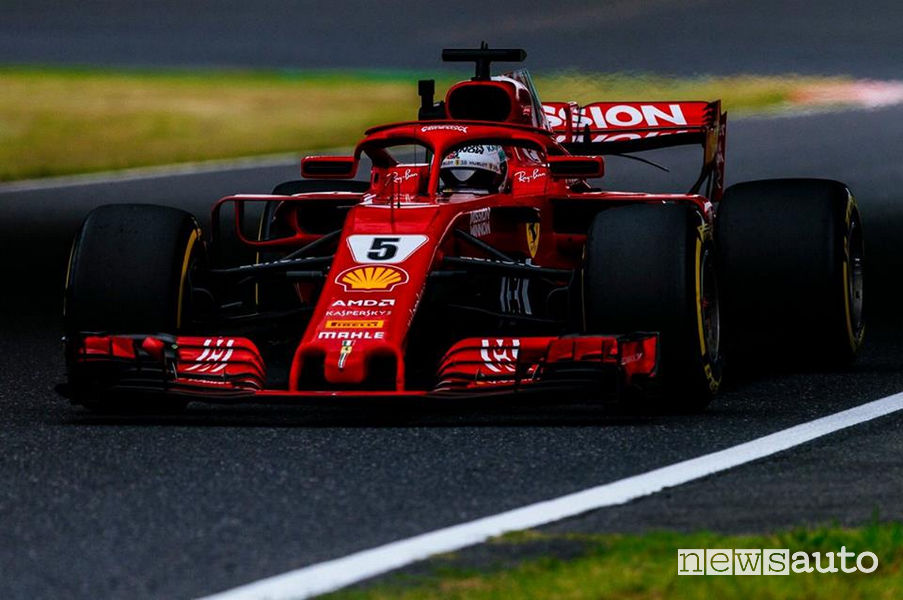 F1 2018 Gp Giappone Ferrari Vettel