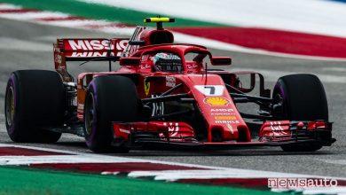 F1 2018 GP USA Ferrari Raikkonen