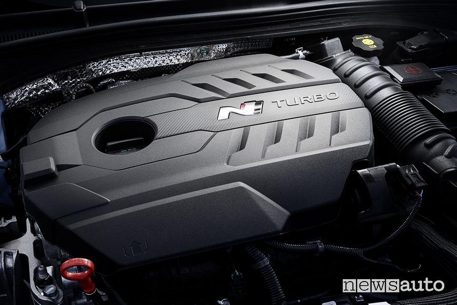 Hyundai_i30 Fstback N 2019, motore 2.0 turbo