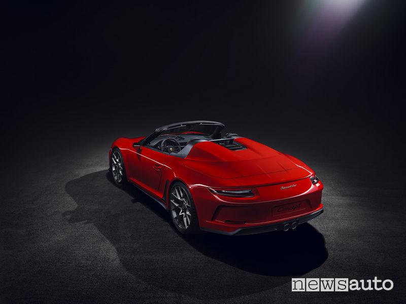 Porsche 911 Speedster concept, vista posteriore