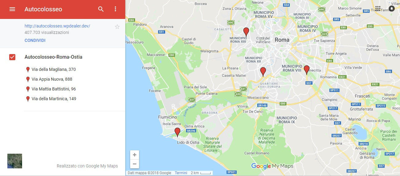 Mazda concessionaria Roma Autocolosseo