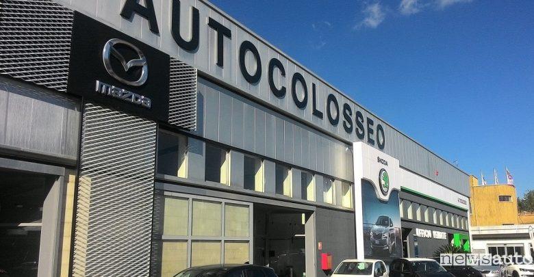 Mazda concessionaria Roma Autocolleso Via della Magliana