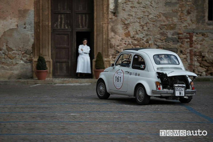 Abarth 500 FCA Heritage alla Targa Florio_Classic 2018