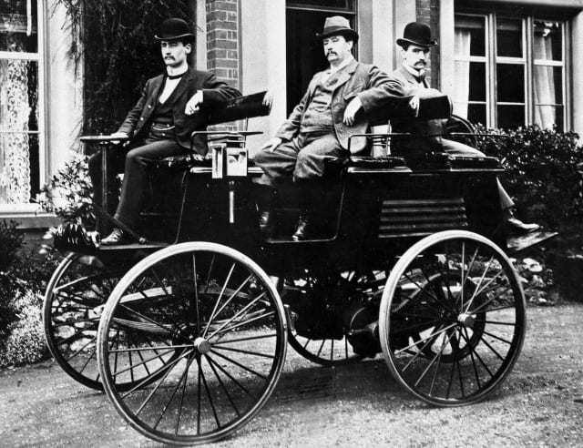 Auto elettrica inventore Thomas Parker