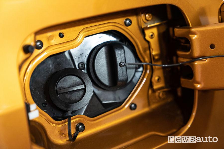 Gpl- bocchetta di rifornimento Dacia Duster Attacco