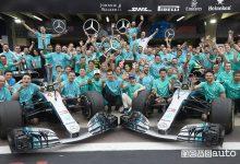 F1 Gp Brasile 2018, festa Mercedes-AMG per il Titolo Costruttori