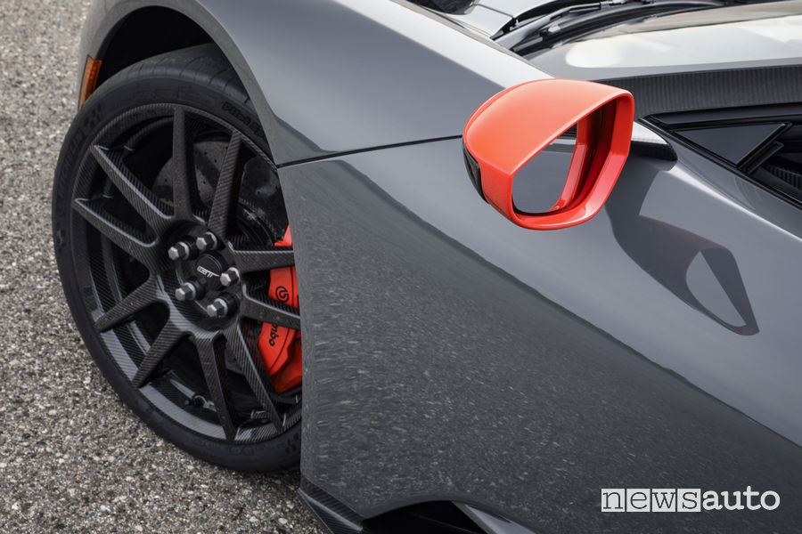 Ford GT Carbon Series, cerchi in fibra di carbonio
