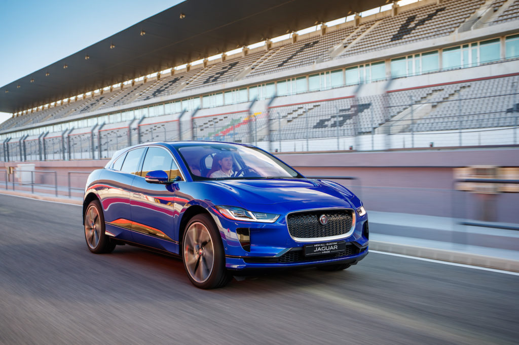 Jaguar I-PACE 2018 front
